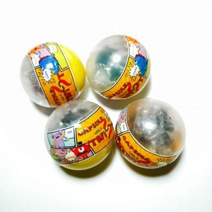 Toy Capsule - Squishy Mesh Ball