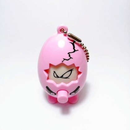 Egg Keychain - Mr Cool Face