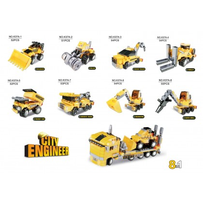 The World Of Blocks - City Engineer - Excavator