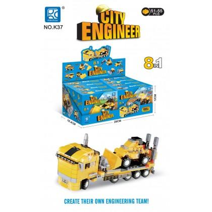 The World Of Blocks - City Engineer - Concrete Mixer
